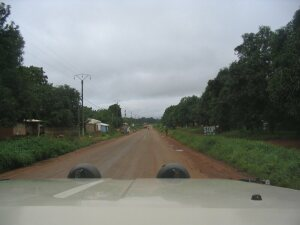 Einfahrt nach Ngaoundéré