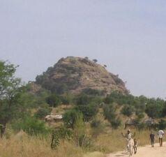 Dies ist der Berg von Rhumsiki.
