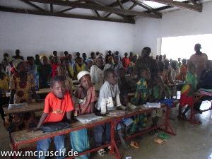 Eine Schulklasse
