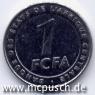 1 F CFA - Zahl
