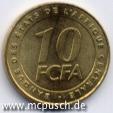 10 F CFA - Zahl
