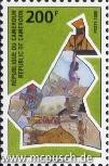 Kameruner Briefmarke 2000: Die zehn Provinzen Kameruns - 200 F CFA